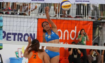 Tiebreaker Times Army, Foton march to PSL Beach Volley semis with perfect cards Beach Volleyball News PSL  Roldan Medino Rey Taneo Relan Taneo RC Cola Army Lady Troopers Petron XCS Patty Orendain Pajiji Alsali Nur-amin Madsairi Navy A Milover Parcon Kyla Atienza Jovelyn Gonzaga Joel Cabayan Franco Camcam Foton Toplander FEU Women's Volleyball Cherry Rondina Bernadeth Pons Bang Pineda Aiza Maizo-Pontillas 2016 PSL Season 2016 PSL Beach Volleyball Challenge Cup