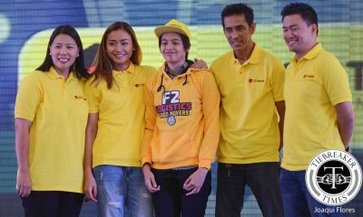 Tiebreaker Times Galang had no idea F2 Logistics snagged the first pick News PSL Volleyball  F2 Logistics Cargo Movers Ara Galang 2016 PSL Season 2016 PSL Draft