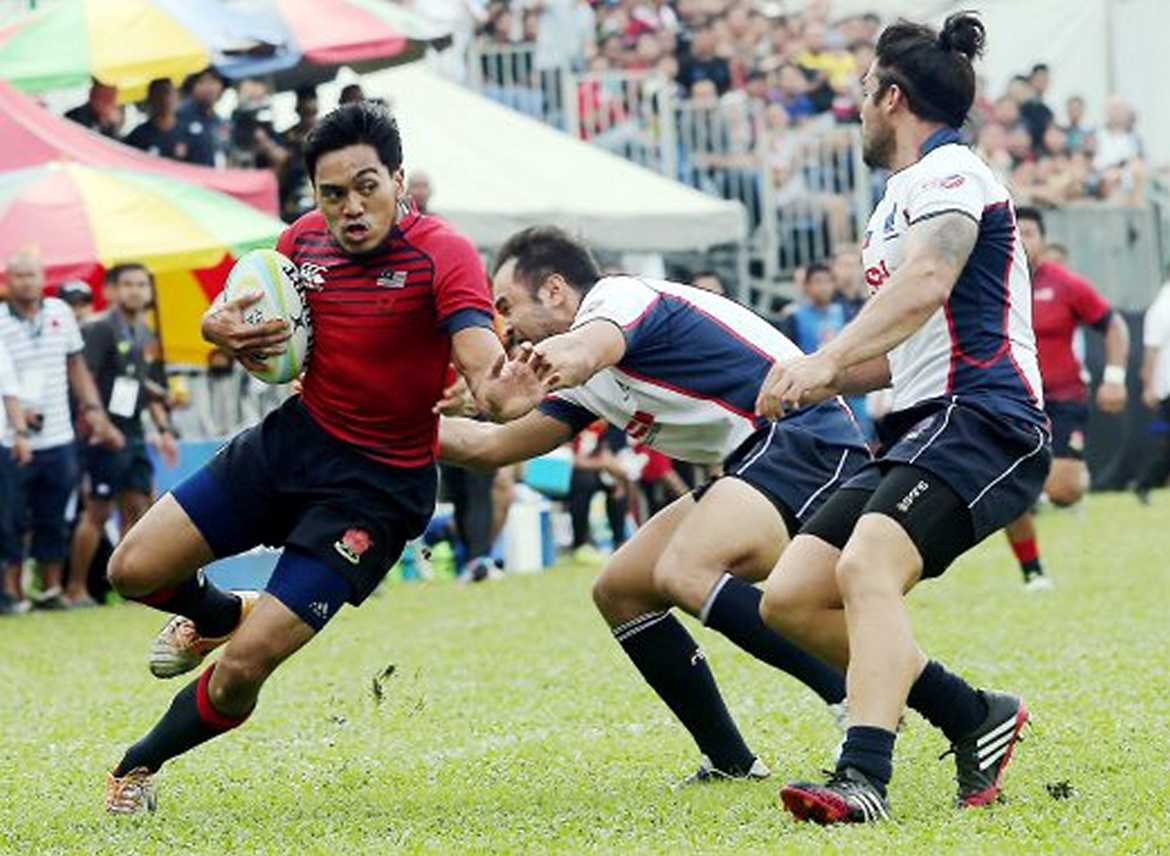 Philippine Sports News - Tiebreaker Times Philippine Volcanoes in final showdown for Asia Rugby Division 1 title News Philippine Volcanoes Rugby  Terry Carroll Derrick Broussard Benjamin Mudie Abalos Saunders 2016 Asia Rugby Division 1 Championship