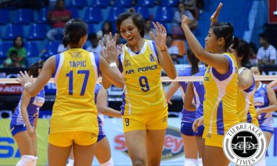 Tiebreaker Times New-look Air Force upends depleted Bali Pure News PVL Volleyball  May Ann Balmaceda Judy Caballejo Jocemer Tapic Jasper Jimenez Ella De Jesus Dzi Gervacio Denden Lazaro Dell Palomata Charo Soriano Bali Pure Purest Water Defenders Amy Ahomiro Air Force Jet Spikers 2016 SVL Season 2016 SVL Open Conference
