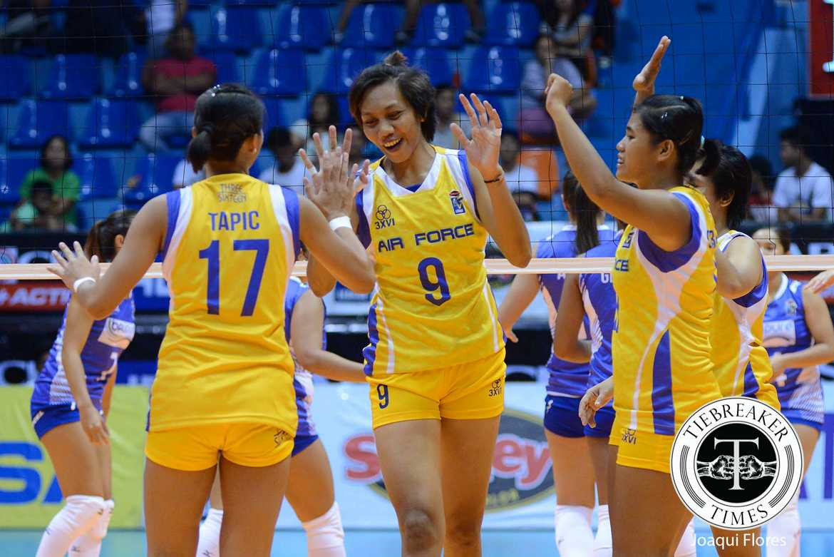 Philippine Sports News - Tiebreaker Times Palomata returns to Air Force fully committed News PVL Volleyball  Dell Palomata Air Force Jet Spikers 2016 SVL Season 2016 SVL Reinforced Conference