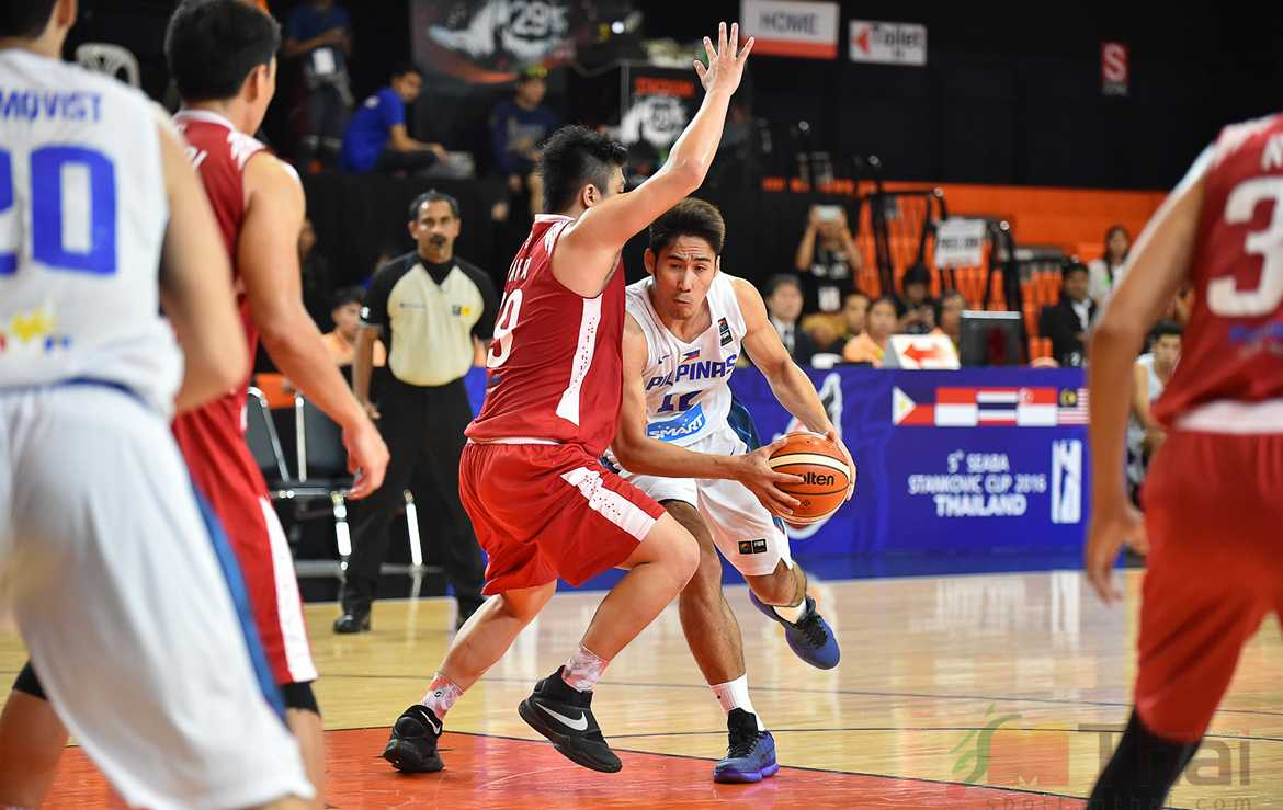 Tiebreaker Times Gilas Cadets roll past Indonesia to stay perfect in SEABA Cup Basketball Gilas Pilipinas News  Roger Pogoy Nash Racela Mike Tolomia Kevin Ferrer Indonesia 2016 SEABA Stankovic Cup