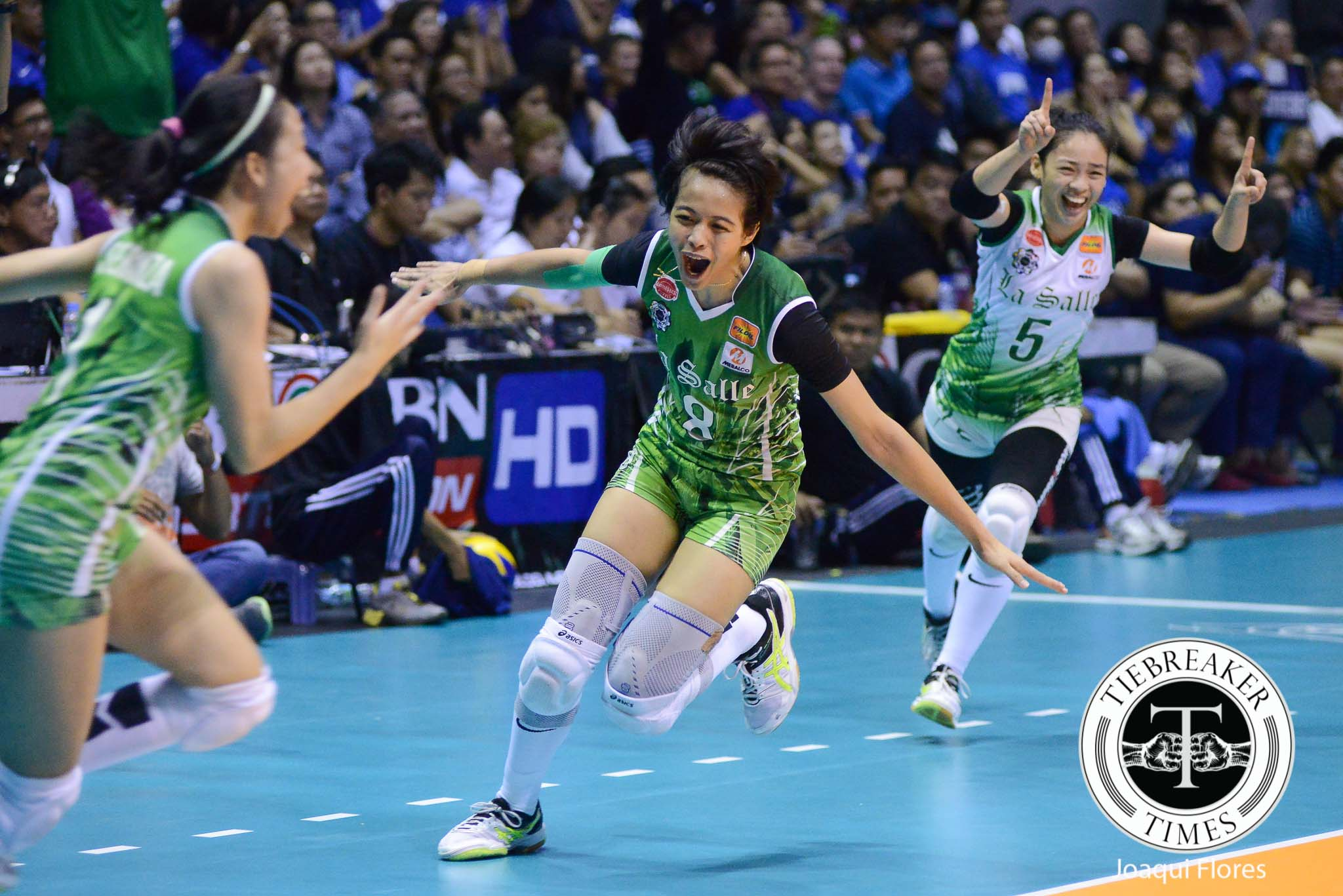 Tiebreaker Times Galang: 'It's all worth it' DLSU News UAAP Volleyball  UAAP Season 78 Women's Volleyball UAAP Season 78 DLSU Women's Volleyball Ara Galang