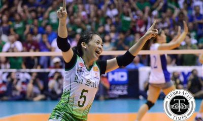 Tiebreaker Times The Rise of Dawn Macandili DLSU News UAAP Volleyball  UAAP Season 78 Women's Volleyball UAAP Season 78 Ramil De Jesus Melissa Gohing DLSU Women's Volleyball Dawn Macandili Benson Bocboc