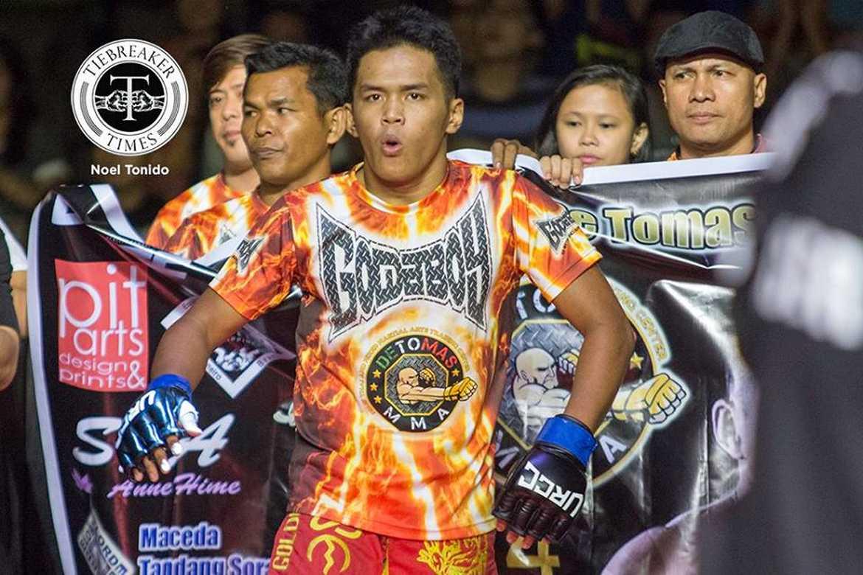 Philippine Sports News - Tiebreaker Times CJ de Tomas drops 2nd straight UFC bout Mixed Martial Arts News UFC  CJ De Tomas
