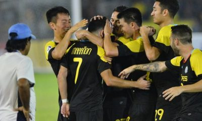 Tiebreaker Times Gallardo hat-trick sends Ceres-La Salle FC to the Round of 16 in style AFC Cup Football News  Ceres-La Salle FC AFC Cup 2016 2016 AFC Cup