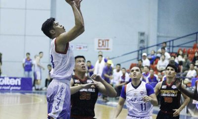 Tiebreaker Times Cafe France jumpstarts Foundation Cup title-retention bid with 22-point win Uncategorized  ZC-Mindanao Aguilas Samboy de Leon RJ Argamino Paul Zamar Marvin Padrigao Gino Jumao-as Egay Macaraya Dexter Garcia Carl Cruz Cafe France Bakers 2016 PBA D-League Season 2016 PBA D-League Foundation Cup