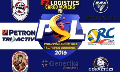 Tiebreaker Times PSL releases All Filipino Conference schedule News PSL UPHSD Volleyball  Standard Insurance-Navy Corvettes RC Cola Army Lady Troopers Petron Tri-activ Spikers Generika Lifesavers Foton Toplander F2 Logistics Cargo Movers Cignal HD Spikers Amy's Kitchen-Perpetual Altas 2016 PSL Season 2016 PSL All Filipino Conference