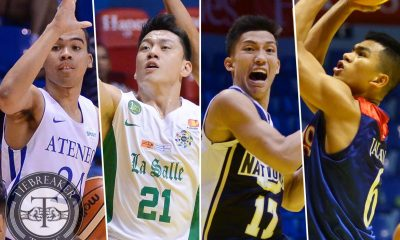 Tiebreaker Times Premier Cup winds down to Final Four ADMU AU Basketball DLSU News NU  Sandy Arespacochaga NU Men's Basketball Jerry Condinera Eric Altamirano DLSU Men's Basketball Ateneo Men's Basketball Arellano Men's Basketball Aldin Ayo 2016 Filoil Flying V Premier Cup