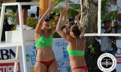 Tiebreaker Times Brazil's Figueiredo, Amaral claim BVR Invitational title Beach Volleyball BVR News  Mimi Amaral LVPI Leah Hinkey Julia Tilley Bruna Figueredo Alicia Bain Alexa Micek 2016 BVR Invitational