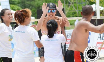 Tiebreaker Times BVR taking initiative with Sandroots program Beach Volleyball BVR News  LVPI Larong Volleyball ng Pilipinas Incorporated Charo Soriano BVR on Tour 2016 BVR Invitational