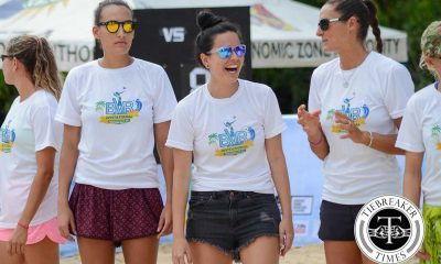 Tiebreaker Times Adachi bent on making Barros-Philippines reunion a reality Beach Volleyball BVR News  Leila Barros Erica Adachi 2016 BVR Invitational