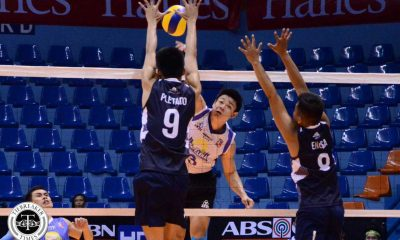 Tiebreaker Times Sta. Elena wrecks Sailors' ship to keep Final Four hopes alive News PVL Volleyball  Sta. Elena Wrecking Balls Ruzzel Palisoc Renen Encisa Philippine Navy Sailors Juvie Mangaring Joven Camaganakan Edgardo Rusit Den Relata Carlo Almario Berlin Paglinawan Arnold Laniog 2016 Spikers Turf Season 2016 Spikers Turf Open Conference