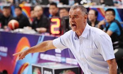 Tiebreaker Times Baldwin expects tough tune-ups against Iran 2016 Manila OQT Basketball Gilas Pilipinas News Philippines  Tab Baldwin Oshin Sahakian Iran Dirk Bauermann Arsalan Kazemi 2016 Basketball Olympic Qualifying Tournament