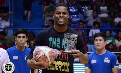 Tiebreaker Times The Kid from Cameroon bags all the Premier Cup awards AU Basketball DLSU News  Kent Salado Jio Jalalon Jeron Teng DLSU Men's Basketball Ben Mbala Arellano Seniors Basketball Abu Tratter 2016 Filoil Flying V Premier Cup