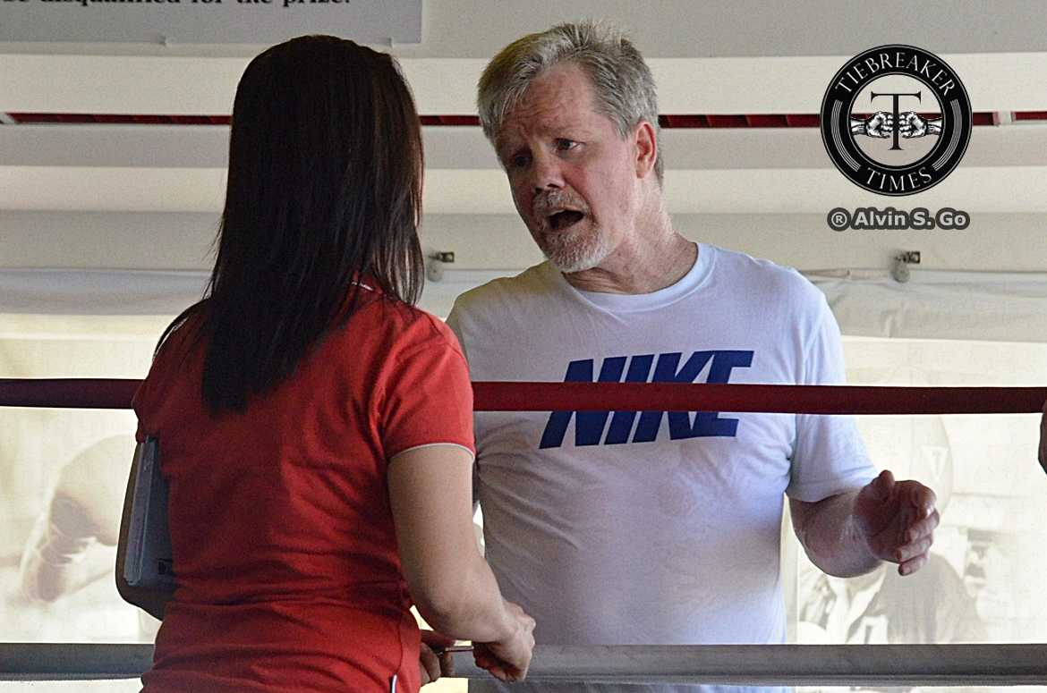 Freddie-Roach I Love the 2010s: Best Coaches of the Decade ADMU AdU Basketball Boxing FEU Football Gilas Pilipinas Mixed Martial Arts News NU ONE Championship Volleyball  - philippine sports news