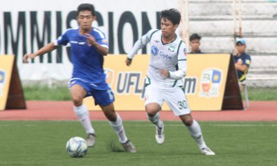 Tiebreaker Times Green Archers United FC end slump, rout Agila MSA Football News  Jimuel Ariola Jhan Melliza Green Archers United FC Agila MSA FC 2016 UFL Season