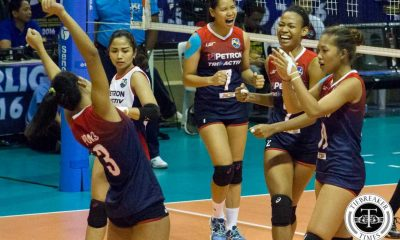Tiebreaker Times Petron makes quick work of Cignal, gains top spot News PSL Volleyball  Sammy Acaylar Petron Tri-activ Spikers Mela Tunay Jheck Dionela George Pascua Djanel Cheng Cignal HD Spikers Cherry Vivas Ces Molina Bang Pineda Aiza Maizo-Pontillas Acy Masangkay 2016 PSL Season 2016 PSL All Filipino Conference