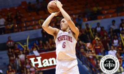 Tiebreaker Times Thompson shares thoughts on Perpetual, Jalalon Basketball NCAA News UPHSD  Scottie Thompson Perpetual Seniors Basketball NCAA Season 92 Seniors Basketball NCAA Season 92 Jio Jalalon