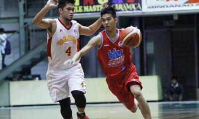 Tiebreaker Times Tanduay escapes Blustar in OT Basketball News PBA D-League  Tanduay Rhum Masters Lawrence Chongson Juami Tiongson JP Belencion Ivan Yeo Goh Cheng Huat Gelo Alolino Blustar Detergent Dragons 2016 PBA D-League Season 2016 PBA D-League Foundation Cup