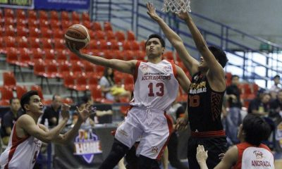 Tiebreaker Times Phoenix thrashes Topstar; AMA ekes out win against Blustar Basketball News PBA D-League  ZC-Mindanao Aguilas Rashawn McCarthy Phoenix Accelerators Nino Natividad Mike Tolomia Mark Herrera Juami Tiongson JR Taganas Jerome Ferrer Gino Jumao-as Ed Daquioag Cheng Huat Goh Blustar Detergent Dragons AMA Online Education Titans 2016 PBA D-League Season 2016 PBA D-League Foundation Cup