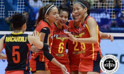 Tiebreaker Times Ara Galang gets long-awaited National Team shot News Volleyball  LVPI F2 Logistics Cargo Movers Ara Galang
