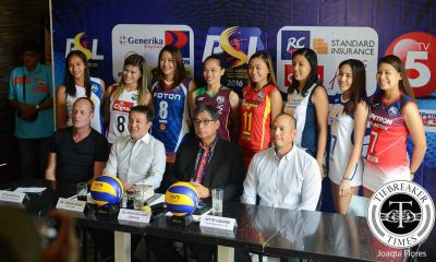 Tiebreaker Times PSL, TV5 promise to bring wider coverage of games News PSL Volleyball  Vitto Lazatin Standard Insurance-Navy Corvettes RC Cola Army Lady Troopers Philip Juico Petron Tri-activ Spikers Generika Drugstore Lifesavers Foton Toplander F2 Logistics Cargo Movers Cignal HD Spikers Amy's Kitchen-Perpetual Altas 2016 PSL Season 2016 PSL All Filipino Conference