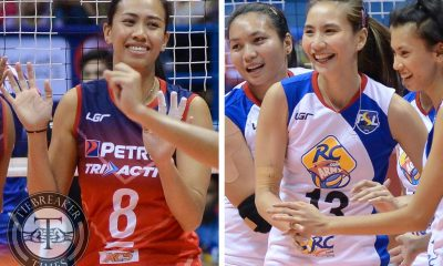 Tiebreaker Times Petron, RC Cola-Army look to keep pace with F2 News PSL Volleyball  Sammy Acaylar RC Cola Army Lady Troopers Petron Tri-activ Spikers Kungfu Reyes Generika Drugstore Lifesavers Francis Vicente Cignal HD Spikers 2016 PSL Season 2016 PSL All Filipino Conference
