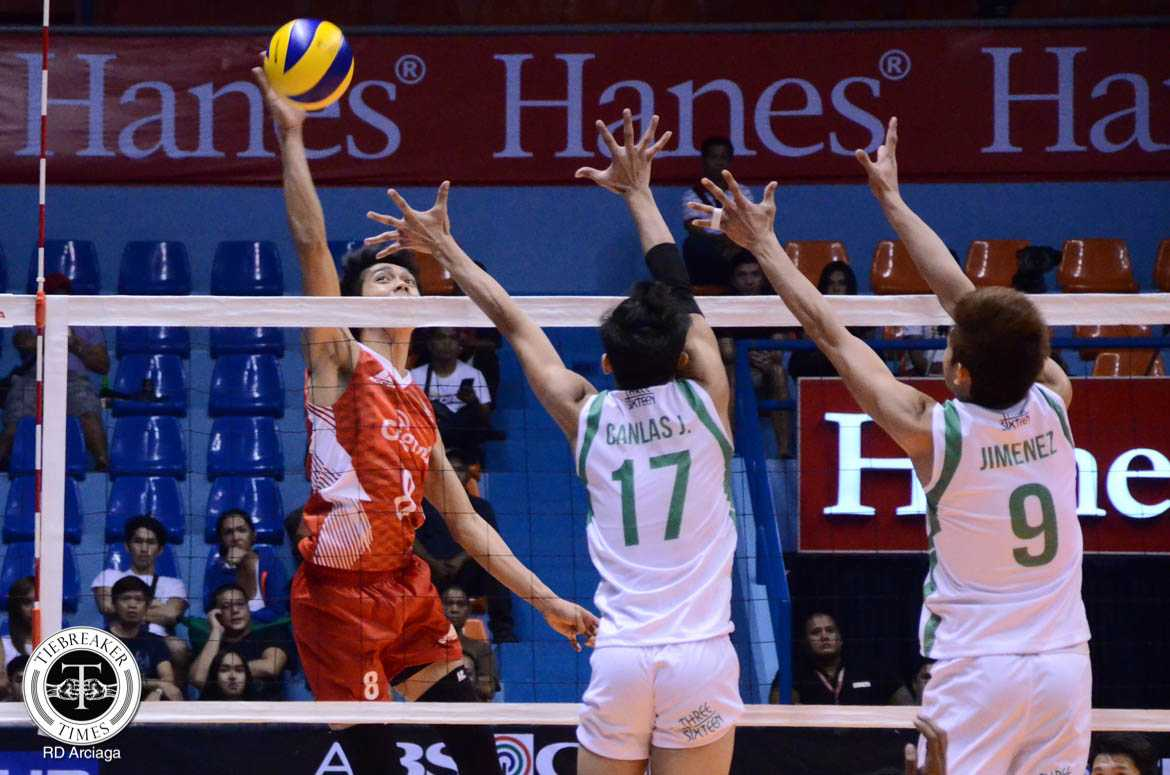 Tiebreaker Times Cignal outduels IEM in 5 grueling sets News PVL Volleyball  Ysay Marasigan Vince Mangulabnan Sandy Montero Michael Carino Manolo Refugia Jeffrey Jimenez IEM Volley Masters Ernesto Balubar Erickson Ramos Edmar Bonono Edan Canlas Cignal HD Spikers 2016 Spikers Turf Season 2016 Spikers Turf Open Conference