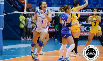 Tiebreaker Times Bali Pure sends Baguio home without a win News PVL Volleyball  Shirley Balantac Marry Ann Atuban Karla Bello Grethcel Soltones Cherry Atuban Charo Soriano Bali Pure Purest Water Defenders Baguio Summer Spikers Amy Ahomiro Alyssa Eroa Ai Tsuchiya 2016 SVL Season 2016 SVL Open Conference