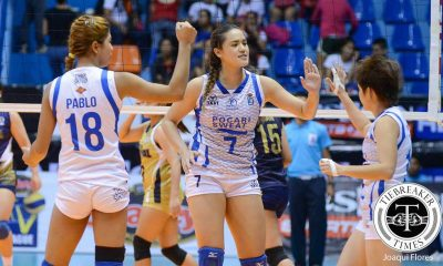 Tiebreaker Times Gumabao expecting tough Game Two from Valdez, BOC News PVL Volleyball  Pocari Sweat Lady Warriors Michele Gumabao 2016 SVL Season 2016 SVL Reinforced Conference