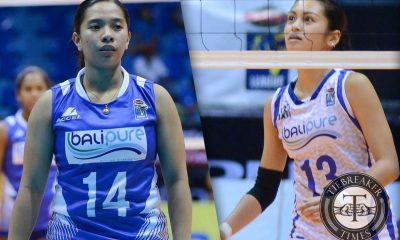 Tiebreaker Times Lazaro, De Jesus enjoying each moment of Lady Eagle reunion News PVL Volleyball  Ella De Jesus Denden Lazaro Bali Pure Purest Water Defenders 2016 SVL Season 2016 SVL Open Conference