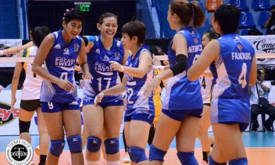Tiebreaker Times Pocari Sweat handles Baguio easily sans Smash Sisters News PVL Volleyball  Rossan Fajardo Rommel Abella Rica Enclona Pocari Sweat Lady Warriors Gyselle Sy Clarissa Tolentino Cherry Atuban Cai Nepomuceno Baguio Summer Spikers Ai Tsuchiya 2016 SVL Season 2016 SVL Open Conference