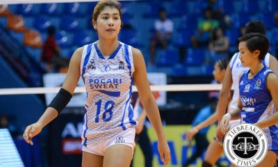 Tiebreaker Times Pocari Sweat's Pablo to miss next 2 games due to injury News PVL Volleyball  Pocari Sweat Lady Warriors Myla Pablo Eric Ty 2016 SVL Season 2016 SVL Open Conference