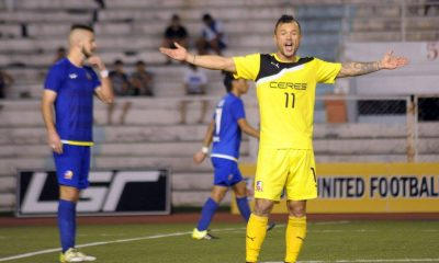 Tiebreaker Times ​Schröck loan to Ceres-La Salle extended Football News UFL  Stephan Schrock Ceres-La Salle FC 2016 UFL Season 2016 UFL League