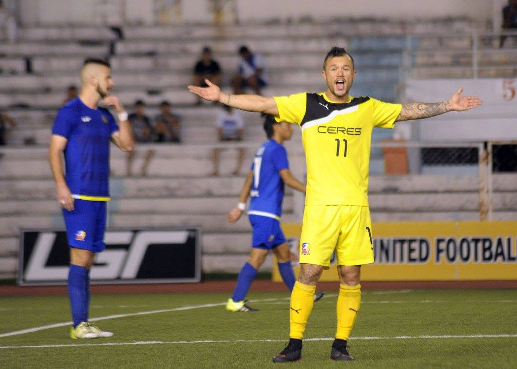 Tiebreaker Times Ceres-La Salle draws closer to Singapore Cup semis after hammering Brunei DPMM Football News  Stephan Schrock Louie Casas Jeffrey Christiaens Ceres-La Salle FC 2016 Singapore Cup