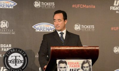 Tiebreaker Times UFC set to make Manila return this October Mixed Martial Arts News UFC  UFC Fight Night Manila 2 Roldan Sangcha-an Robbie Lawler Kenneth Berger Jon Dodson Jon delos Reyes