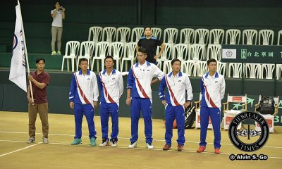 Tiebreaker Times Chinese Taipei strands Philippines in Group II Davis Cup News Tennis  Ti Chen Jeson Patrombon 2016 Davis Cup