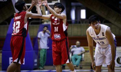 Tiebreaker Times Batang Gilas falls short against resilient Thais Basketball Gilas Pilipinas News  Mike Oliver JV Gallego Jolo Mendoza John Bryle Bahio Batang Gilas 2016 FIBA Asia U18
