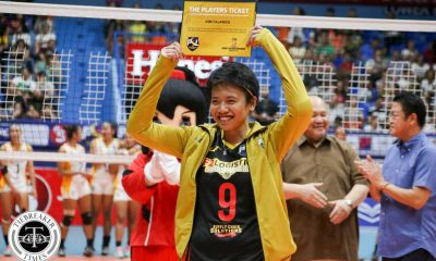 Tiebreaker Times Fajardo joins Team Philippines for 2016 FIVB Women's CWC 2016 FIVB Women's CWC DLSU News PSL Volleyball  Kim Fajardo F2 Logistics Cargo Movers 2016 PSL Season 2016 PSL All Filipino Conference 2016 FIVB Club World Championship