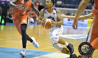 Tiebreaker Times Castro scores 24 as TNT hands Meralco's first loss Basketball News PBA  Talk N Text Tropang Texters Norman Black Michael Madanly Mario Little Jong Uichico Jayson Castro Jared Dillinger Cliff Hodge Allen Durham 2016 PBA Governors Cup 2016 PBA D-League Aspirants Cup