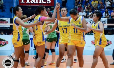 Tiebreaker Times Jet Spikers soar to first SVL Finals News PVL Volleyball  Wendy Semana Nes Pamilar Mylene Paat May Ann Pantino Mae Crisostomo Laoag Power Smashers Judy Caballejo Jema Galanza Jasper Jimenez Eunice Galang Chi Saet Air Force Jet Spikers 2016 SVL Season 2016 SVL Open Conference