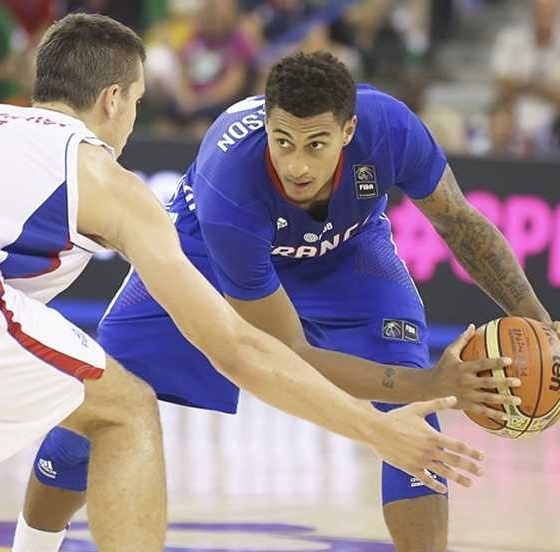 Tiebreaker Times Edwin Jackson: France's 13th man 2016 Manila OQT Basketball France News  Edwin Jackson 2016 Basketball Olympic Qualifying Tournament