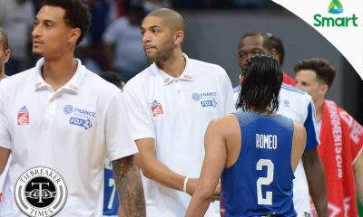 Tiebreaker Times Batum cleared to play for France-Turkey semis tilt 2016 Manila OQT Basketball France News  Nicolas Batum 2016 Basketball Olympic Qualifying Tournament