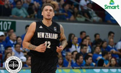 Tiebreaker Times Fotu praises Gilas crowd, looks forward to more battles 2016 Manila OQT Basketball New Zealand News  Isaac Fotu 2016 Basketball Olympic Qualifying Tournament