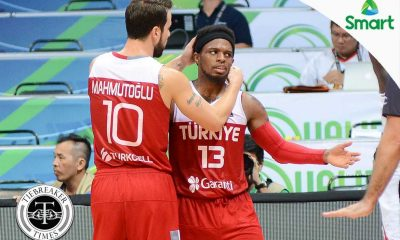 Tiebreaker Times Muhammed sizzles late to lift Turkey to semis 2016 Manila OQT Basketball News Senegal Turkey  Semih Erden Porfirio Fissac Maurice Ndour Maleye Ndoye Ergin Ataman Antoine Mendy Ali Muhammed 2016 Basketball Olympic Qualifying Tournament