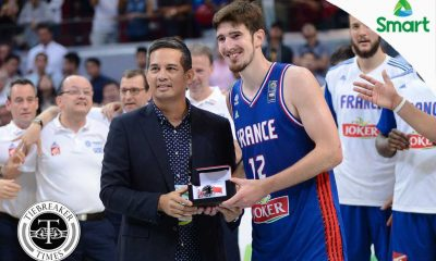 Tiebreaker Times De Colo cops Manila OQT MVP 2016 Manila OQT Basketball France News  Nando De Colo 2016 Basketball City Tournament