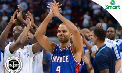 Tiebreaker Times WATCH: Parker, Batum get 'rockstar' treatment in Manila 2016 Manila OQT France News  Tony Parker Nicolas Batum 2016 Basketball Olympic Qualifying Tournament