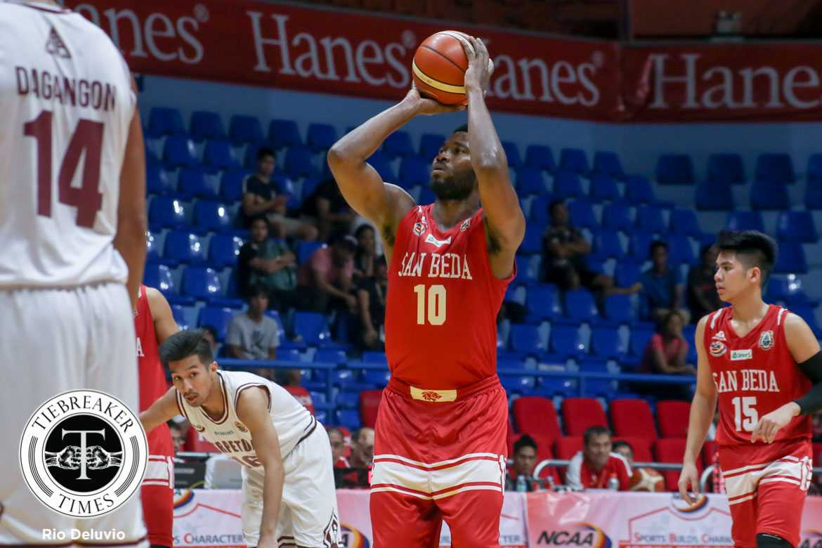 2710cee4f86a Tiebreaker Times Red Lions trounce Altas to stay perfect Basketball NCAA  News SBC UPHSD San Beda