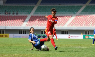 Tiebreaker Times Philippines out of semi-final contention after four-goal loss to Vietnam Football News Philippine Malditas  Philippine Women's National Football Team Malditas 2016 AFF Women's Championships
